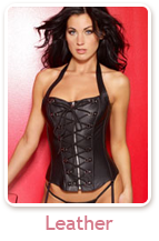 Leather Bustier & Corsets