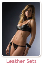 Leather Lingerie Sets