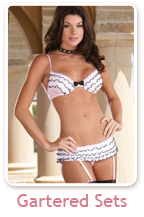 Gartered Lingerie Sets