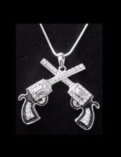 2 in. Guns Pendant