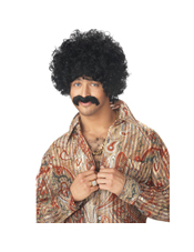70's Pornstar Wig and Moustache California Costume