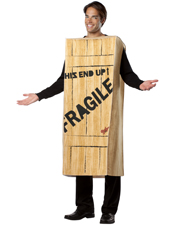 A Christmas Story Fragile Wooden Crate Costume