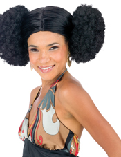 Afro Poof Wig Adult Fun World