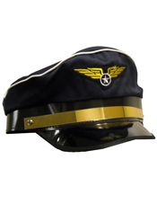 Airplane Pilot Adult Hat Forum Novelties