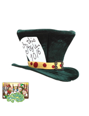 Alice In Wonderland Classic Mad Hatter Hat Elope