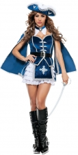 All for You Musketeer Adult Costume