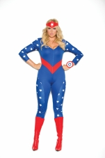 American Hero 3 Pc Costume Elegant Moments