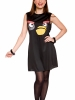 Angry Birds Sassy Black Bird Adult Costume