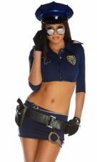 Armed & Dangerous Cop Costume Forplay