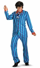 Austin Powers Blue Suit Deluxe Costume