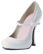 Babydoll White Shoes Leg Avenue