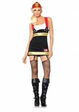 Backdraft Babe Costume Leg Avenue