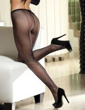 Backseam Fishnet Pantyhose Shirley