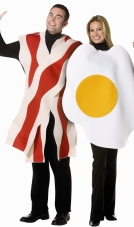 Bacon and Eggs Adult Costume Rasta Imposta