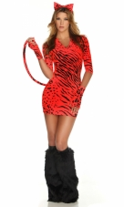 Bad Kitty Tiger Costume Forplay