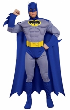 Batman Brave & Bold Deluxe Muscle Chest Costume