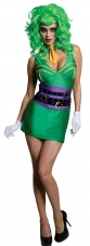 Batman Super Villain Joker Female Costume Rubies