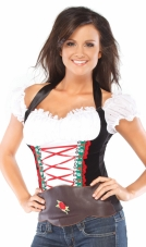Beer Girl Bustier Adult Costume Coquette