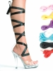 Bella 5 inch Heel Sandal With Ribbons