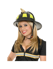 Black Fire Helmet Charades Costumes