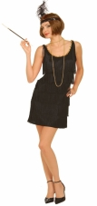 Black Flapper Costume Forum Novelties