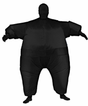 Black Inflatable Suit