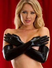 Black Onyx Long Gloves Wicked Temptations