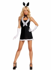 Black Tie Bunny 5 Pc Costume Elegant Moments