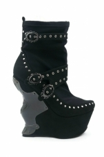 Blade Platform Ankle Boots Hades