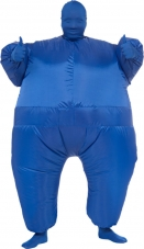 Blue Inflatable Suit