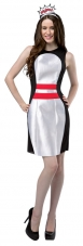 Bowling Pin Dress Adult Costume