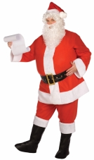 Budget Complete Santa Suit Adult Plus Costume Buy Seasons