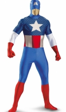 Captain America Bodysuit