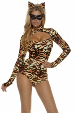 Cat's Meow Bodysuit Costume Forplay