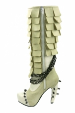 Caymene Knee High Boots Hades