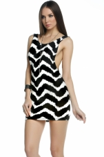 Charlotte Printed Tank Dress Forplay