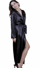 Charmeuse Long Robe