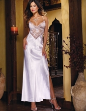 Charmeuse Sequin Gown Dreamgirl