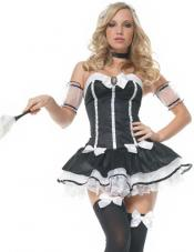 Charming Chambermaid Costume Leg Avenue