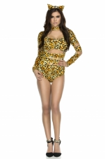 Charming Cheetah Sexy Cat Costume Forplay