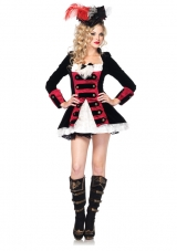 Charming Pirate Captain Costume Leg Avenue