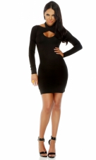 Chic Criss Cross Bodycon Dress