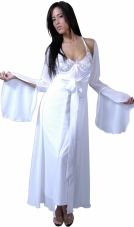 Chiffon Long Robe Vx Intimate Lingerie