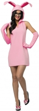 Christmas Story  Bunny Dress Adult Costume Rasta Imposta