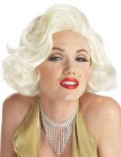 Classic Marilyn Monroe Wig California Costume