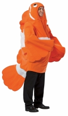 Clown Fish Adult Costume Rasta Imposta