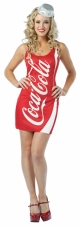 Coca-Cola - Coke Tank Dress Adult Costume Rasta Imposta