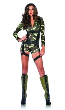 Coing Commando Costume Leg Avenue