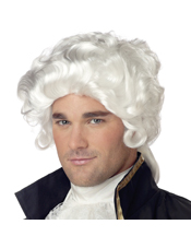 Colonial Man Economy Wig California Costume