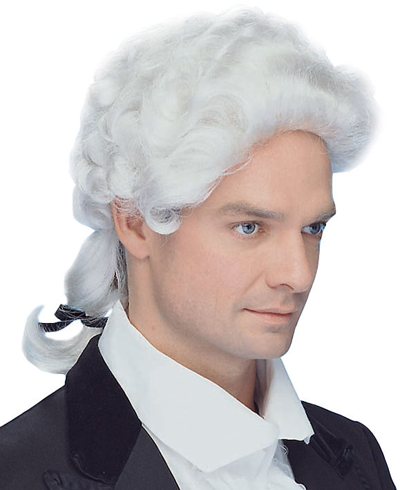 Colonial Man Wig Peter Alan 1894 Costumes Hats Wigs
